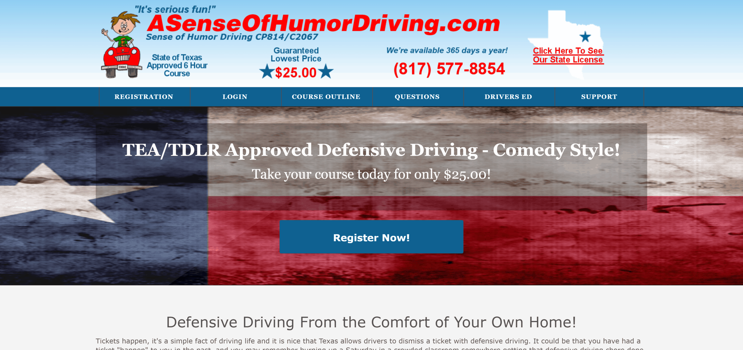 A Sense of Humor Driving