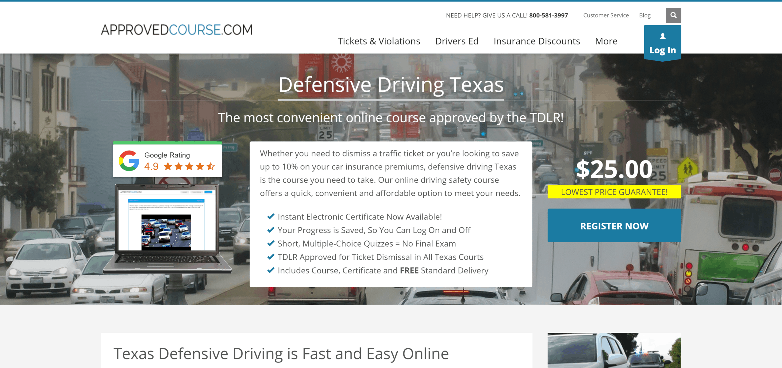 Approved Course Texas Defensive Driving